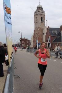 Maaike 10 km Katwijk 2013
