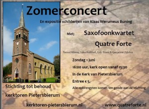 Flyer concert juni KTPb als foto